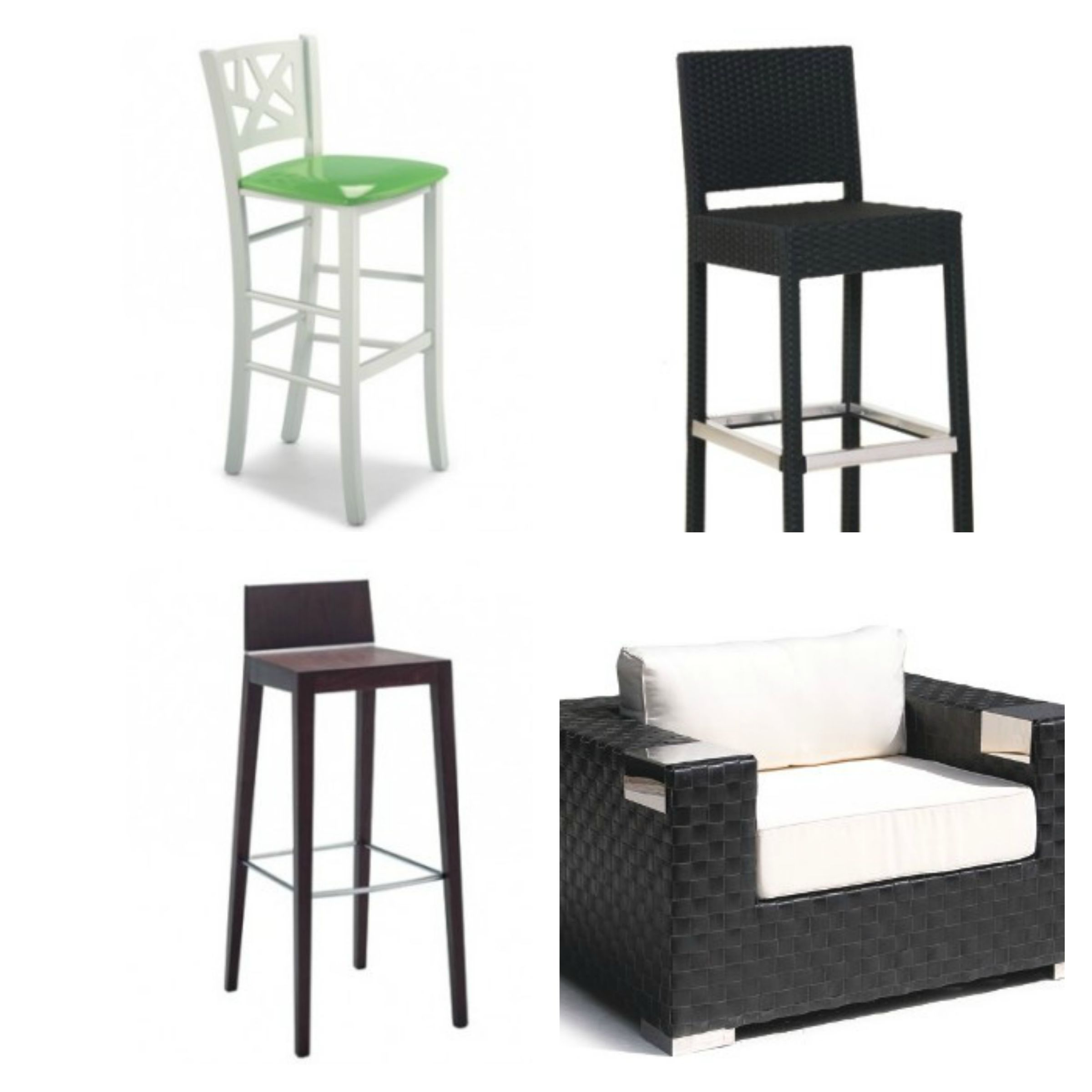 Sedie per bar emerson for Feltrini antirumore per sedie