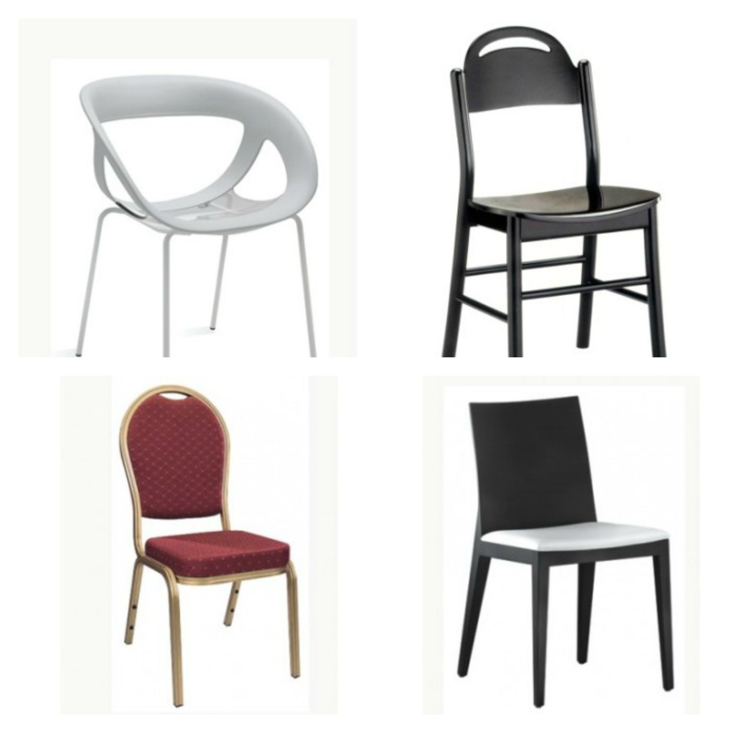 Sedie per negozi e locali pubblici emerson for Negozi sedie ufficio